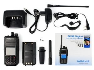 Retevis RT3 Digital Mobile Radio (DMR UHF)