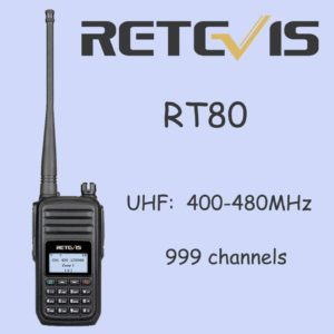 RT87 UHF Amateur Radio Business Radio mit DMR